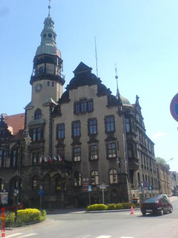 Kamienna Góra - centrum, autor: wiesiek