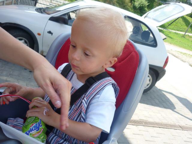 Jemy i smarujemy :) - MojRower.pl