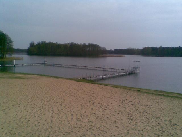 Plaża w Zaniemyślu, autor: janusz-rydzek
