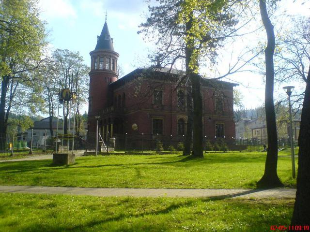 Pałac w Głuszycy, autor: wiesiek