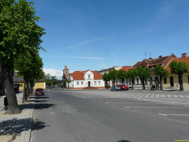 Rynek w Nieszawie, autor: darkofe