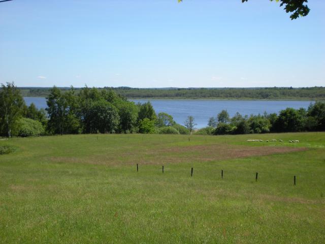 widok na jezioro Lubiatowo - MojRower.pl
