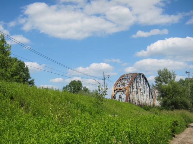 Most kolejowy - MojRower.pl