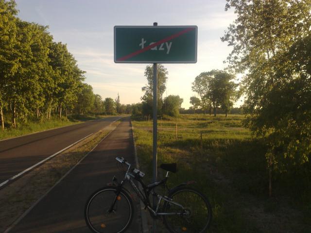 Łazy w kierunku Unieścia - MojRower.pl