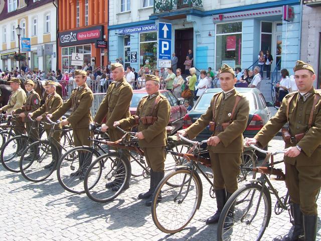 Generały na rowerach, autor: wojt