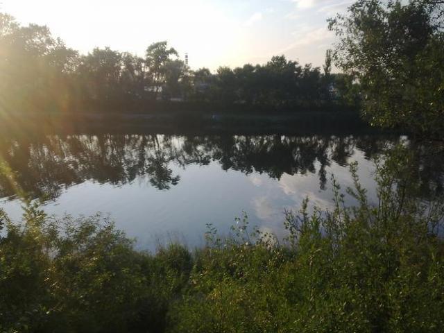 Widok na kanałek Żerański, autor: mm