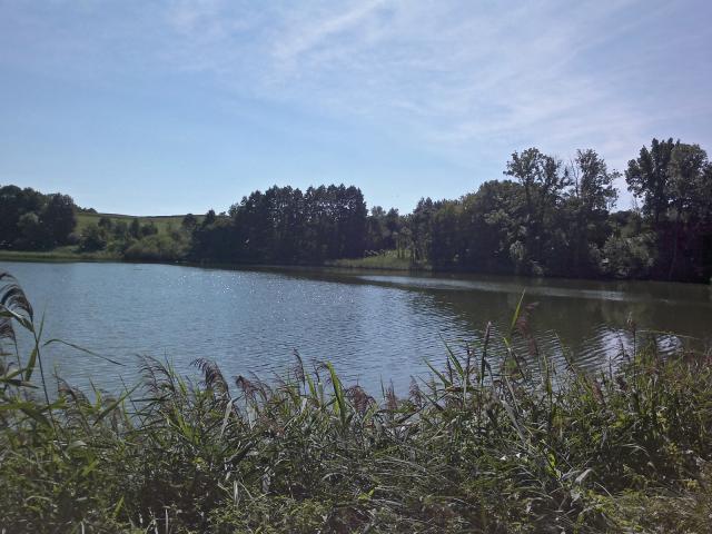 widok na jeziorko, autor: hubert-tyc