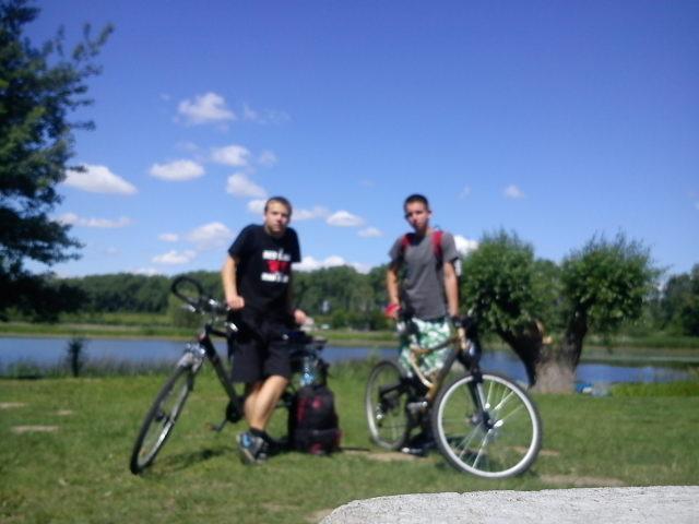 Kawałek jeziora w Chełmnie i miejsce naszego pierwszego przystanku , autor: djpark