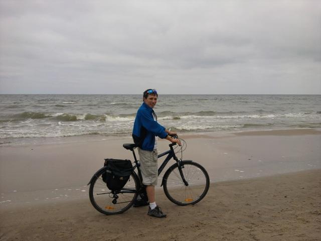 Plaża i rower., autor: gregor