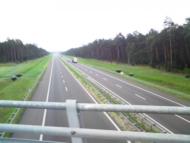 Przejazd nad A1 - MojRower.pl