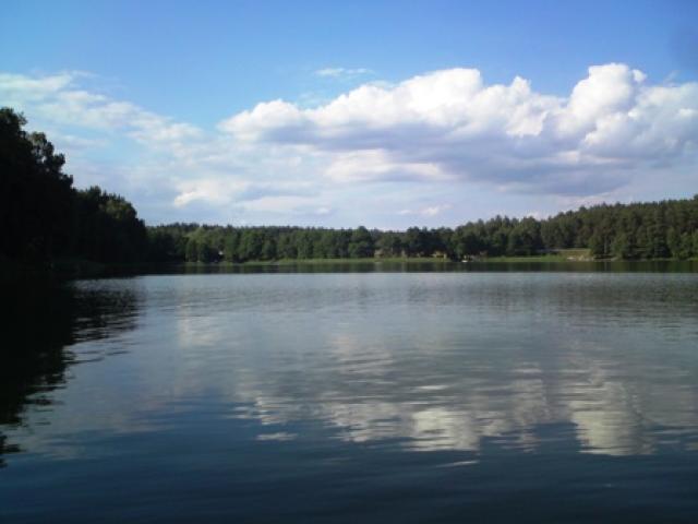 Jezioro Rybno Duże - MojRower.pl
