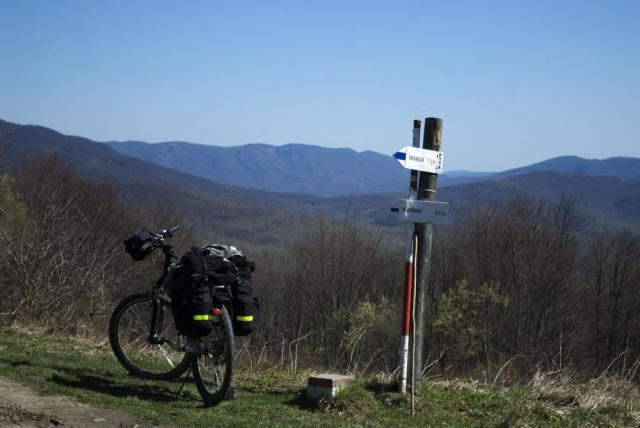 Przełęcz nad Roztokami Górnymi - MojRower.pl