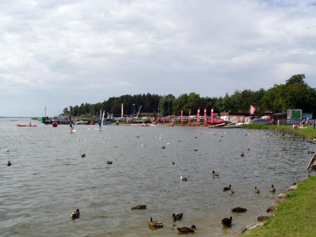 nad jeziorem - MojRower.pl