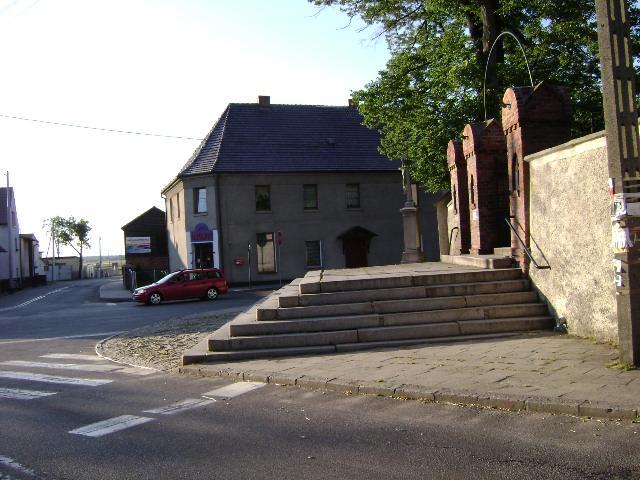 Główne skrzyżowanie w Wielowsi. - MojRower.pl