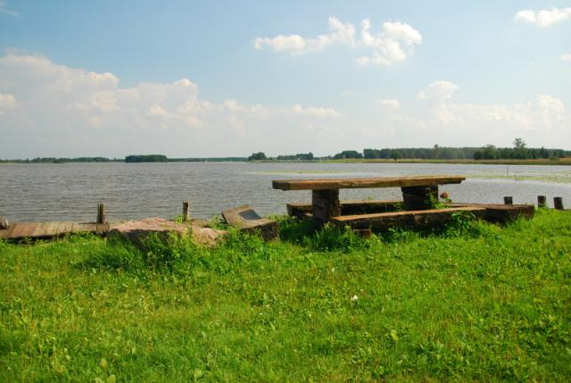 Jezioro Płaskie, fot. BR - MojRower.pl