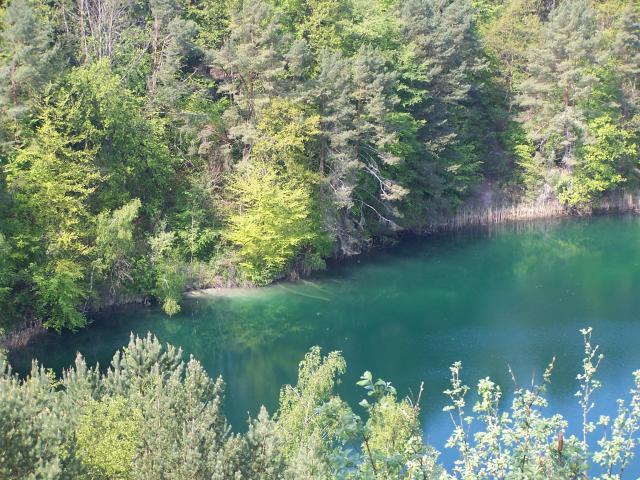 piękny kolor wody, zawsze i wciąż  - MojRower.pl
