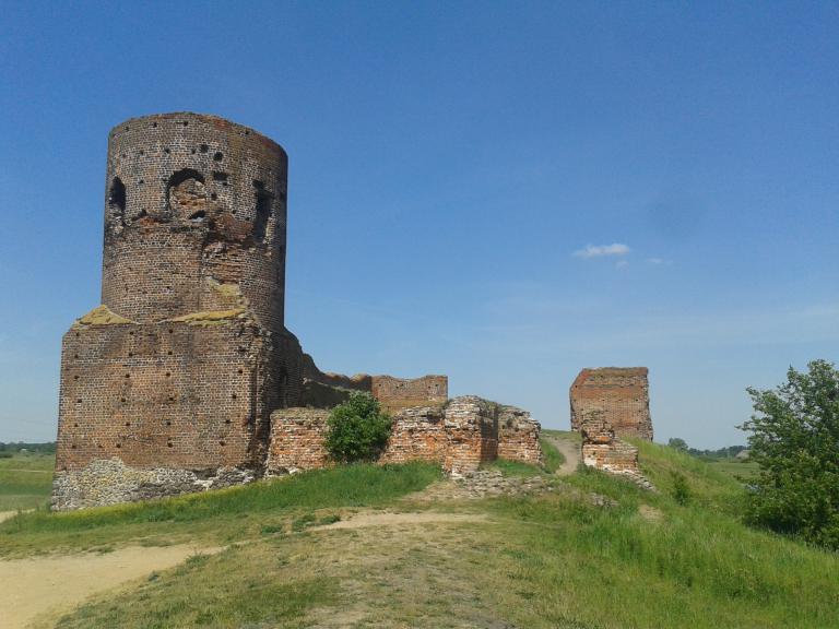 Koło - ruiny zamku, autor: Dominik Pięta