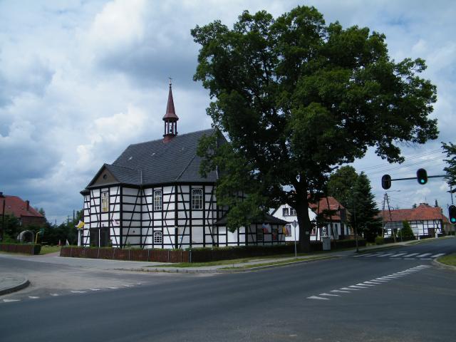 Koścół w Lubięcinie, autor: leon