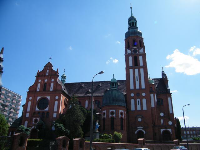 Kościół Świętej Trójcy w Bydgoszczy, autor: leon
