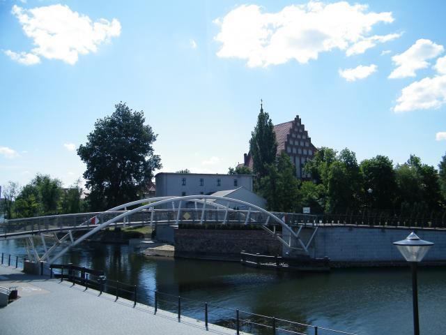 Most dla pieszych nad Brdą, autor: leon