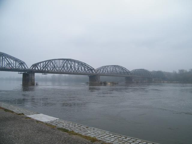 Most kolejowy na Wiśle, autor: leon