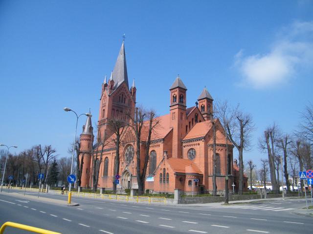 Kościół Zmartwychwstania NMP w Inowrocławiu, autor: leon