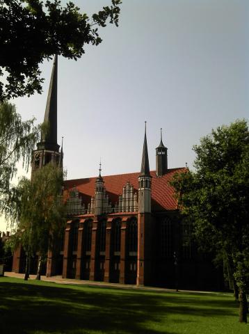 Oliwa. Kościół Matki Bożej Królowej Korony Polskiej , autor: pmfalcon