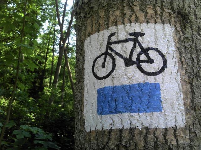 Dolina Radości, Niebieski szlak rowerowy, autor: pmfalcon