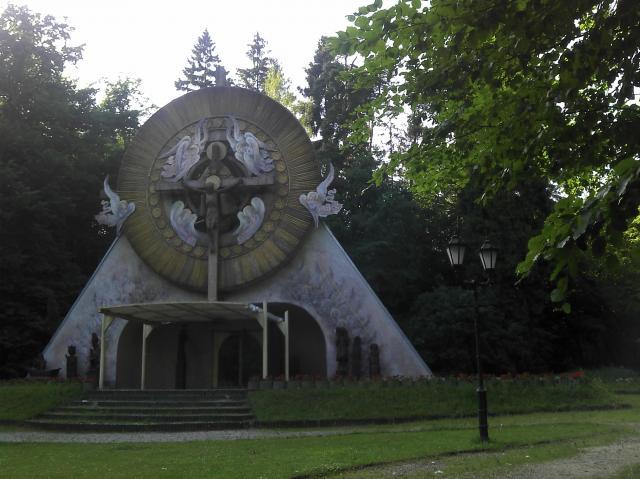 sanktuarium w Matemblewie, autor: pmfalcon