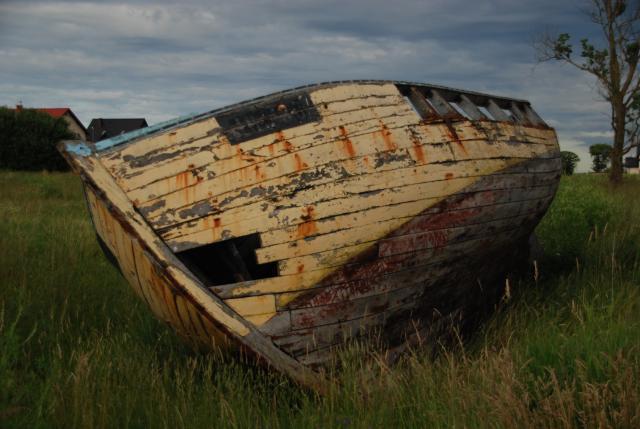 Wrak łodzi rybackiej., autor: rafal_gd