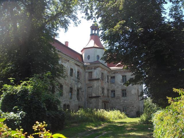 Pałac w Domanicach, autor: wiesiek