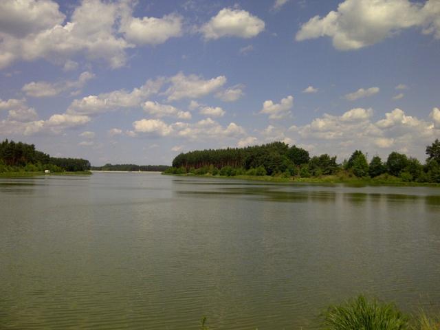Widok na zalew Ostrowy, autor: kilminster