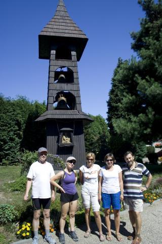 Palowice - drewniany kościółek pw. Trójcy Przenajświętszej - MojRower.pl
