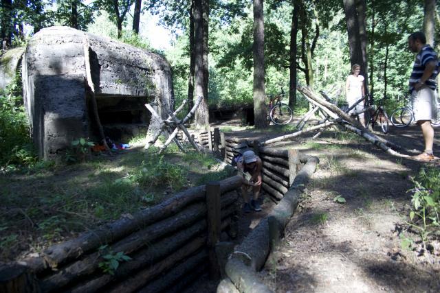Bunkier z II Wojny Światowej - MojRower.pl