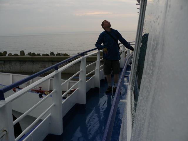 Na pokładzie tramwaju wodnego Hel - Gdynia - MojRower.pl