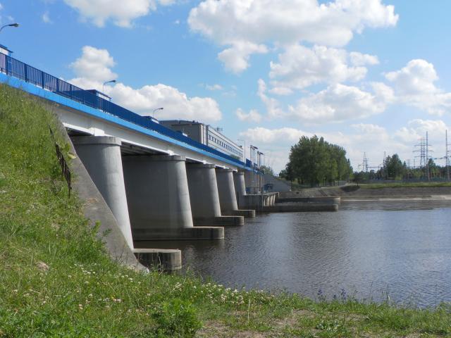 zapora w Dębę - MojRower.pl