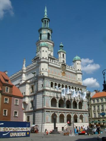 Ratusz w Poznaniu, autor: gosia_ziom