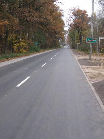 Nowy asfalt w Pilawie, autor: jasiu32