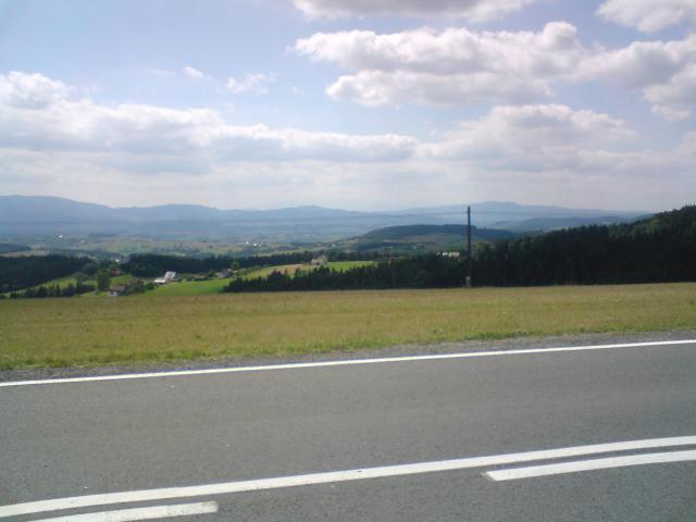 Panorama z Wysokiego - MojRower.pl