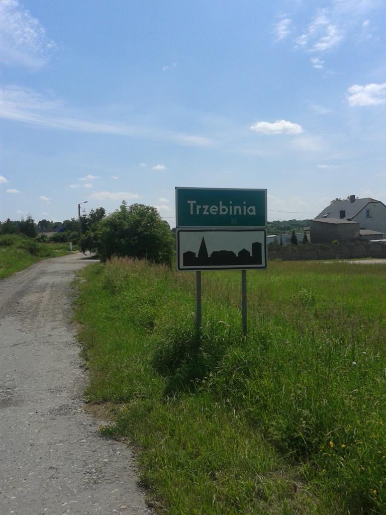 Wjazd do Trzebini - MojRower.pl